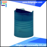 28/410 [بّ] زرقاء بلاستيكيّة أسطوانة أعلى غطاء لأنّ زجاجات