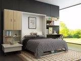 Doppeltes Sofa-Wand-Bett mit Bücherregal