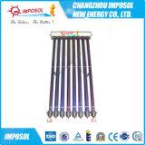 Calentador de agua solar a presión del tubo de calor del uso doméstico