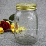 Высекать опарник 150ml варенья меда цветка стеклянный----1000ml