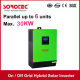 Ibrido sulla griglia e fuori dall'invertitore solare 1kVA-5kVA di griglia MPPT
