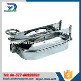 AISI304 pressione lucidata EPDM Manway rettangolare con il tipo maniglia della chiave