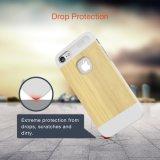 2017 Caja protectora de la naturaleza Serie Slicoo Delgado madera para el iPhone de Se