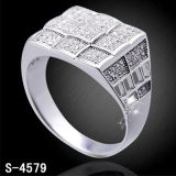 Venda por atacado da fábrica do anel da jóia da prata 925 esterlina