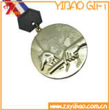 金のスポーツのZinのカスタム旧式な合金の柔らかいエナメルメダル