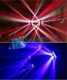 새로운 최신 판매 DJ는 장치 16X10W RGBW 4in1 거미 LED 이동하는 맨 위 광속 빛을 상연한다