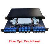 48ポート1uラックによって取付けられるScの光ファイバパッチ・パネルODF