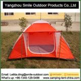Ся купола холстины корейца 2-Person застежка-молнии шатер цены быстро дешевый