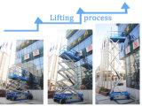plataforma de levantamento móvel da altura de funcionamento 10m para a manutenção