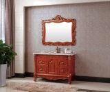 Meubles sanitaires antiques de salle de bains d'articles en bois solide de type (YZ2699)