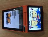 De androïde Gebaseerde Handbediende Machine van het Kaartje met de Lezer van de Kaart NFC (ZKC PC900)