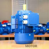 moteur électrique 415V triphasé de l'arbre 19mm de 0.75kw 1HP 2800rpm