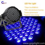 Produit décrit--La lumière de PARITÉ de décoration de RGB3in1 54PCS*3W DEL avec des riches lavent l'effet