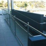 Balaustra moderna di vetro dell'inferriata della scala di nuovo disegno
