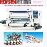 PVC de alta velocidade da série de Fhya-B que inspeciona e máquina do rebobinamento