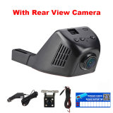 1080P WiFi Dash Cam DVR com grande angular