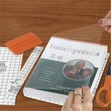 Belüftung-Bucheinband mit geprägter und gedruckter Oberfläche schützt sich vor Wasser und Staub