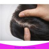 Rimontaggio dei capelli per la chiusura 4*4inch del merletto dei capelli delle donne