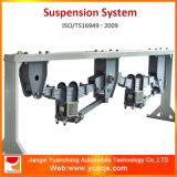 Het Systeem van de Opschorting van de Aanhangwagen van de Lente van het Blad van drie Assen