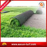 Césped artificial de la hierba del paisaje de 4 del color PP del PE para el jardín