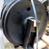前部アイドラーPC60-5 PC60-6掘削機Spaseはブルドーザーのクローラーか下部構造の機械装置を分ける