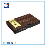 Doces do cartão & caixa de papel personalizados alta qualidade do chocolate com inserção
