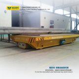Carril del mecanismo impulsor de la batería que maneja el acoplado del vehículo de transporte de cargo del coche