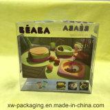Caixa impressa de dobramento quente do empacotamento plástico da venda