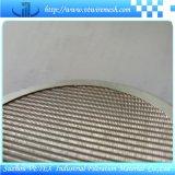 Disco del filtro del acero inoxidable del círculo