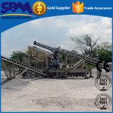 Hohe Produktivität-bewegliche Steinzerkleinerungsmaschine-Pflanzenpreise