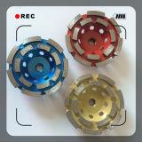 100mm 구체적인 지면 다이아몬드 가는 컵 바퀴