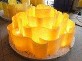 B60-623 греют потолочную лампу Scoure желтую акриловую привесную