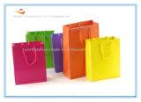 ロゴプリントが付いている2016の習慣のショッピングブラウンクラフト紙袋