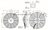 Motore di ventilatore automatico del ventilatore del A/C Spal Va11-Bp12/C-57A