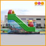 使用された商業単一の車線の膨脹可能なスライド、販売(AQ913-7)のための膨脹可能な恐竜の標準スライド