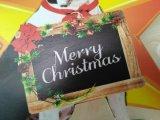 Decoartion de Navidad Metal Bulldog Barrera de valla de artesanía de decoración para el jardín