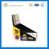 화장품 (플루트 종이상자 진열대)를 위한 골판지 전시 선반 상자