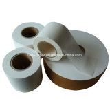 papel de filtro de bolso de té del sellado caliente de la pulpa del abacá de 114m m
