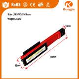 Torcia elettrica della penna indicatore luminoso di funzionamento della clip di Roating di 180 gradi
