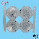 LED, die einlagige Aluminium PCBA gedruckte Schaltkarte beleuchtet