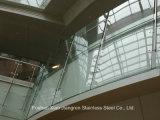 Corrimano moderno dell'inferriata dell'acciaio inossidabile per il balcone