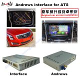 車人間の特徴をもつGPSの運行キャデラックATS、Xts、Srx、Cts、Xt5のシボレーMalibu (手掛りシステム)のアップグレードの接触運行、WiFi、Mirrorlinkのためのビデオインターフェイスボックス