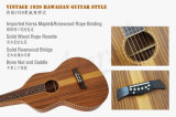 Madeira compensada havaiana da guitarra de aço do regaço de Weissenborn Handcrafted/guitarra de Havaí (HG007B)