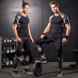Cool Design Hommes à trois pièces Running Basketball Training Compression Tight Sportswear