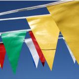 Nach Maß bunte wasserdichte Zeichenkette-Wimpel-Flagge-Markierungsfahnen