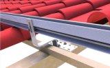 Corchetes solares de acero galvanizados el 100% del gancho de leva de la azotea de azulejo