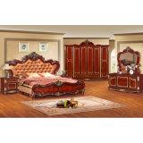 Klassisches Bett für Schlafzimmer-Möbel und Hauptmöbel (W803)