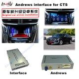 Casella dell'interfaccia di percorso Android dell'automobile video per il ATS del Cadillac, Xts, Srx, Cts, Xt5, percorso di tocco di aggiornamento della Chevrolet Malibu (SISTEMA di INDICAZIONE), WiFi, BT, Mirrorlink