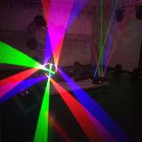 新しい9ヘッドDMX段階のくもRGBのレーザー光線