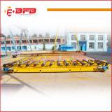 センサー制御を用いるワゴンを扱う生産ライン電気柵